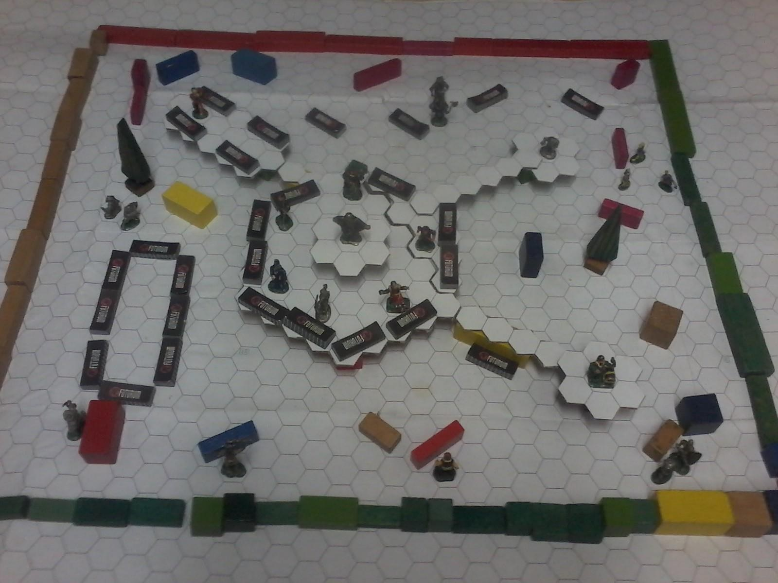 Test combat mechanics of the game on battleground